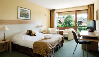 Chambres familiales de l'hôtel la Villa Marlioz*** Aix-les-Bains