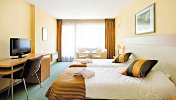 Chambre Triple Hôtel*** Villa Marlioz Aix-les-Bains