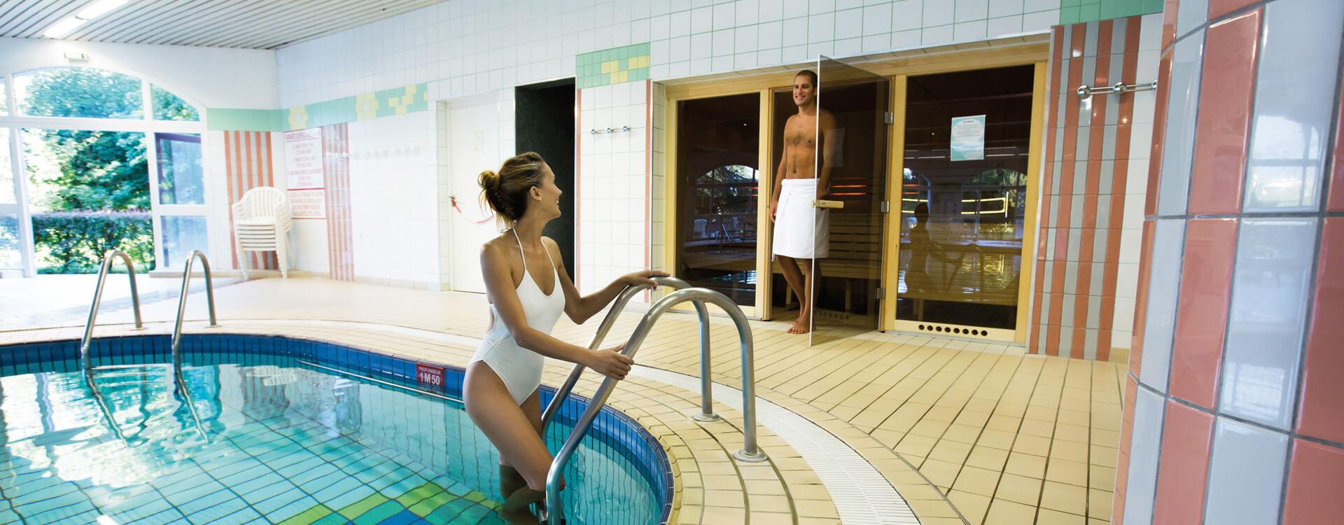 Espace détente - Hôtel & spa*** La Villa Marlioz à Aix-les-Bains