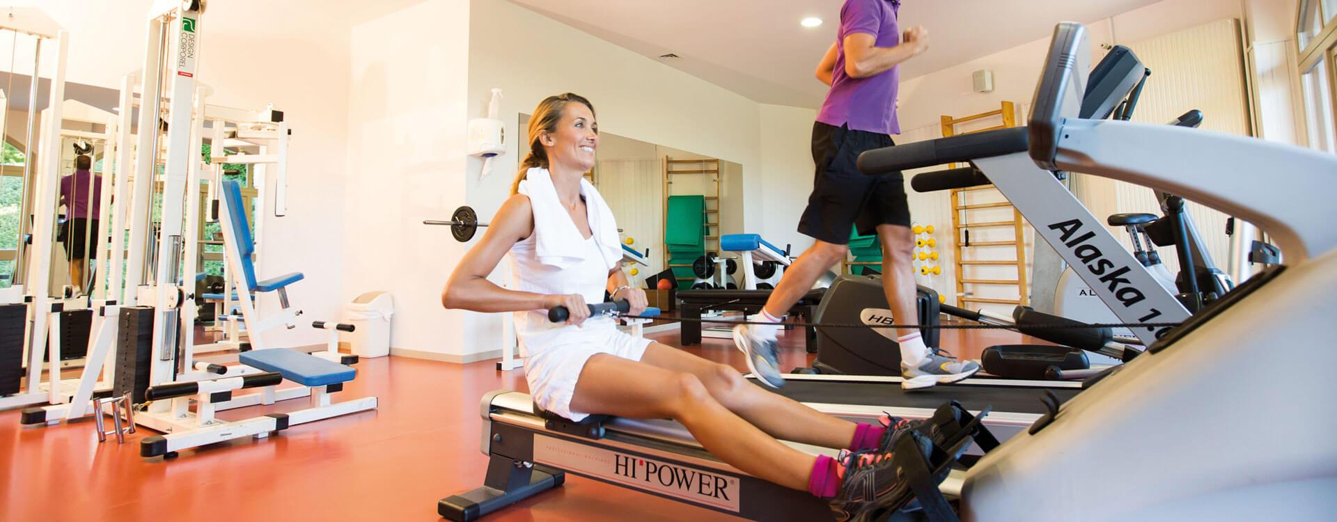 Fitness - Hôtel & spa*** La Villa Marlioz à Aix-les-Bains
