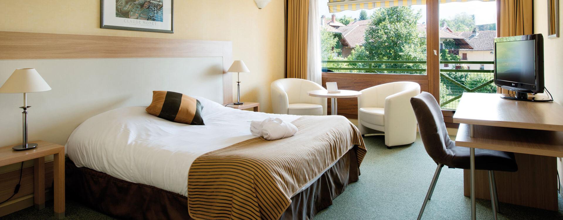 Chambres - Hôtel & spa*** La Villa Marlioz à Aix-les-Bains